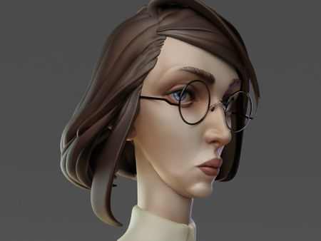 Portrait of Librarian