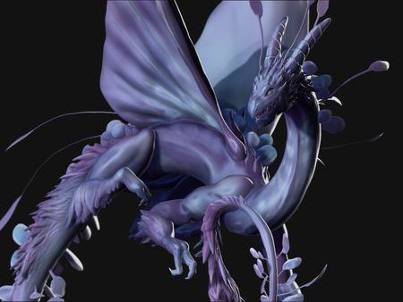 Wisteria Dragon