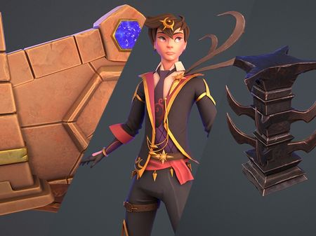 Stylized 3D projects