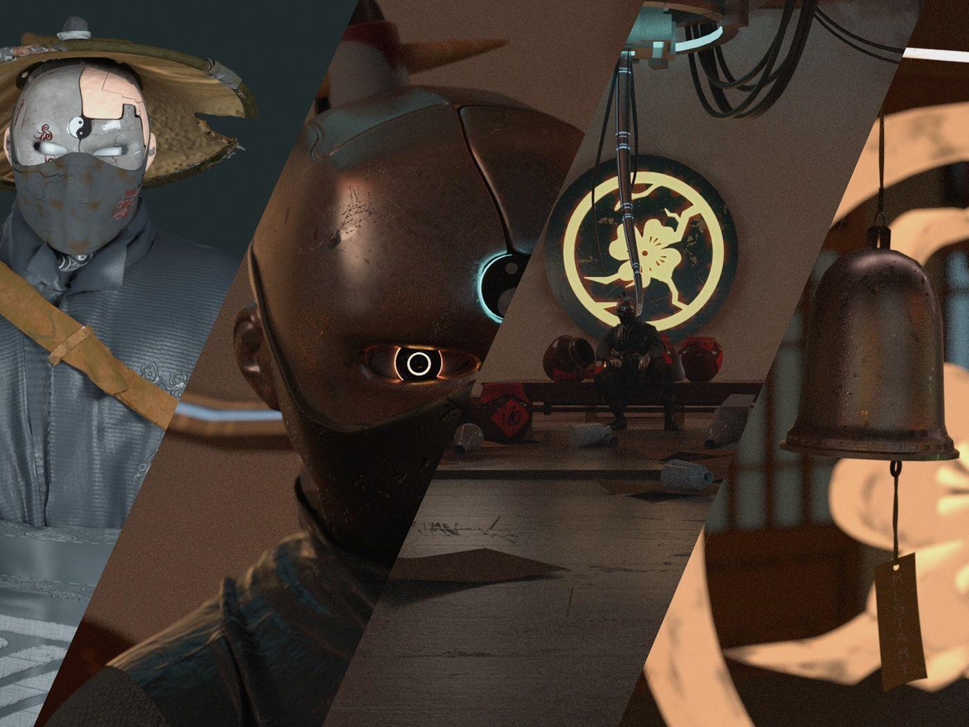 SwordsMan & Restart-3D Character animation