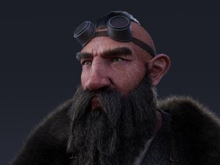 Finn the dwarf, aspiring alchemist