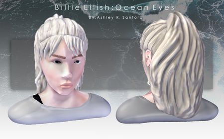 3D Sculpt, Billie Eilish