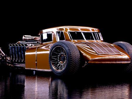 Hotrod Automotive Render