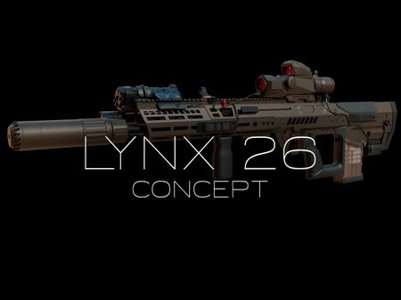Lynx 26 Bullpup Concept WIP