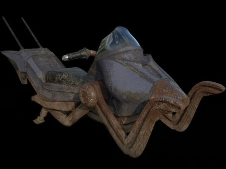 Rusty Hoverbike