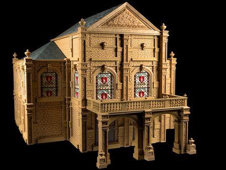 Modular Cathedral
