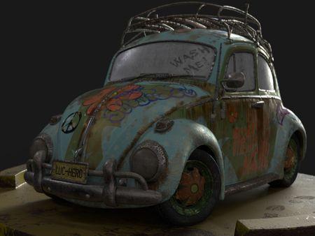 Scooby-Doo Beetle