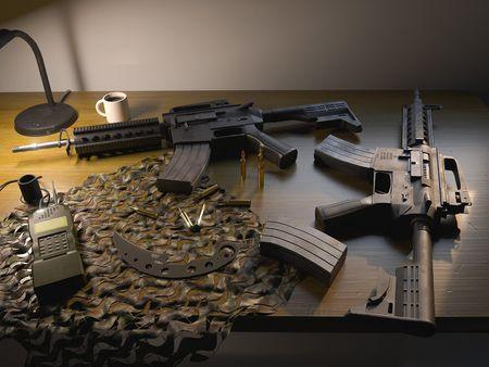 M4 Military Scene