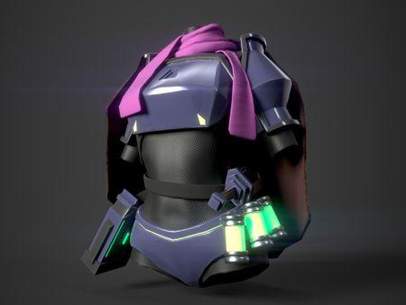 Sci-Fi Female Rebel Armor