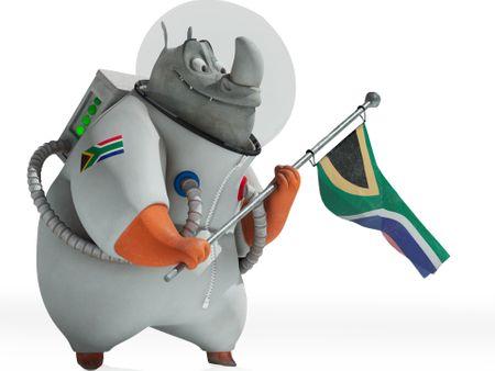 Rhinoceros Astronaut