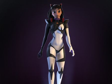 Character modelling project