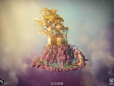 Diorama unreal engine project