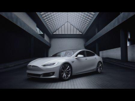 Tesla Commercial Shot