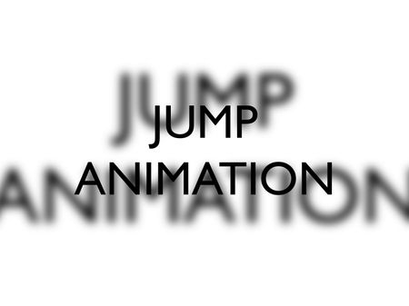 Jump Animation 3D