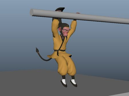 Wukong Acrobatics - Animation Progress