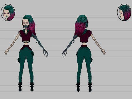 Girl Cyberpunk