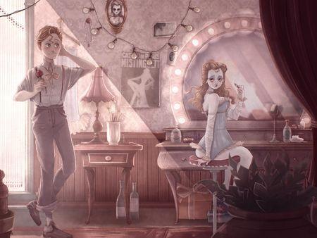 Keyshot - Rupert and Ophelia