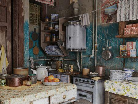 Derelict Soviet Kitchen