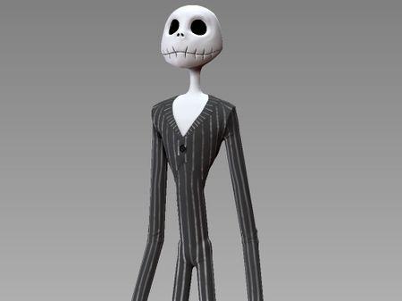 Modeling 3D - Mister Jack