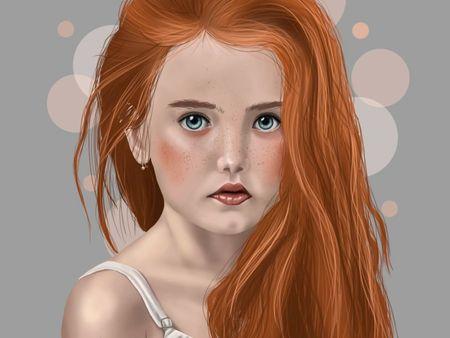 Portrait - Little Girl
