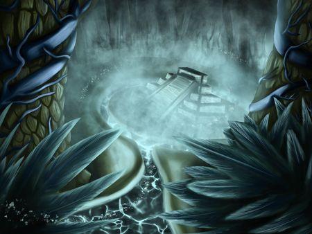 The Mayan Glow