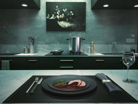 Hannibal Lecter's kitchen