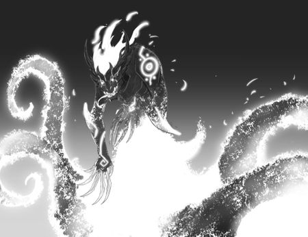 Fire Spirit (BW)