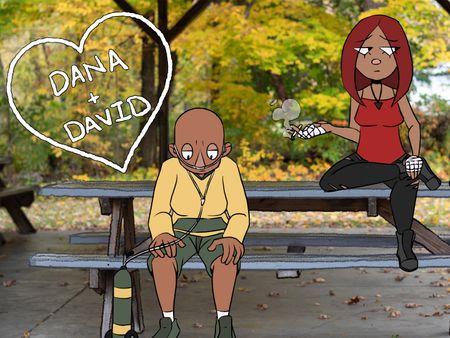 Dana+David
