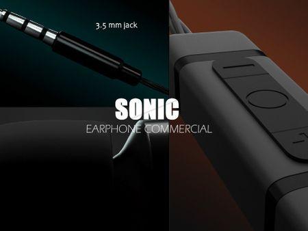 Sonic Earphone Commercial