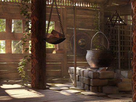 Viking Interior Design - Character Design