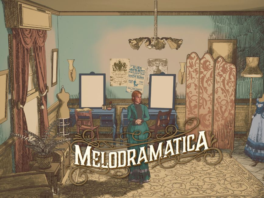 Melodramatica! A Victorian themed management game