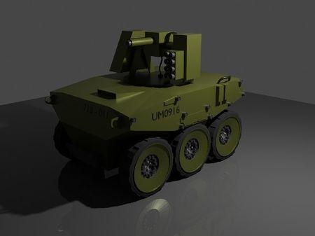 Military UVG [Box Modelling Practice]