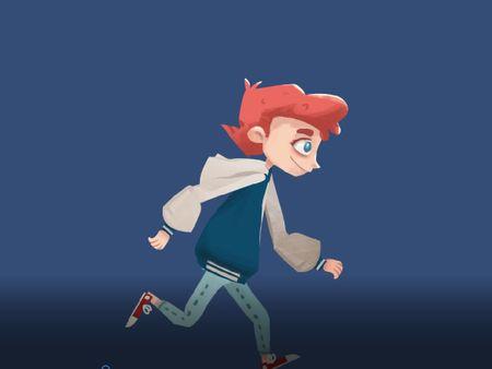 Run Animation Rig