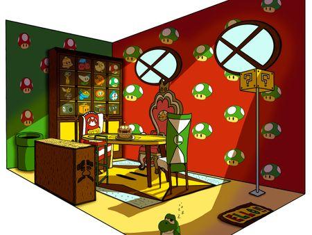 Diseño Salón Conceptual