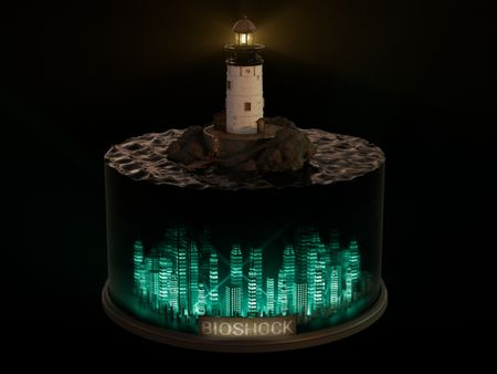 Weekly Drills 67: BioShock Ligthouse Diorama