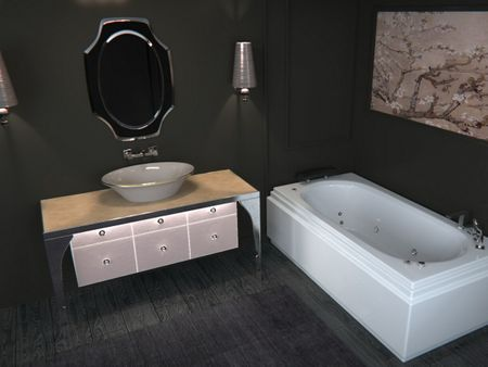 bathroom shower tray
