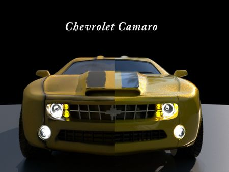 Hard Surface Modelling ( Chevrolet )