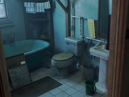 The Last of Us Bathroom
