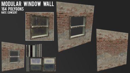 Modular Wall Set