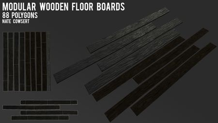 Modular Wooden Floor Boards