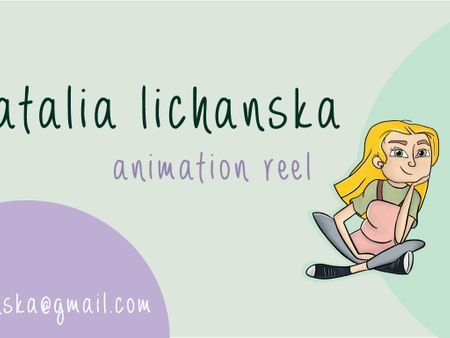 Natalia Lichanska 3D Animation showreel
