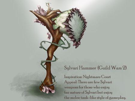 Sylvari Hammer