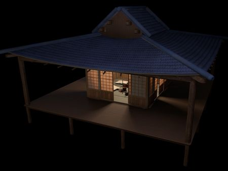 tea house for a jam