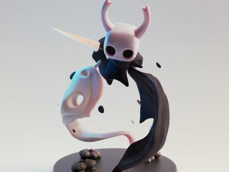 Hollow Knight figurine