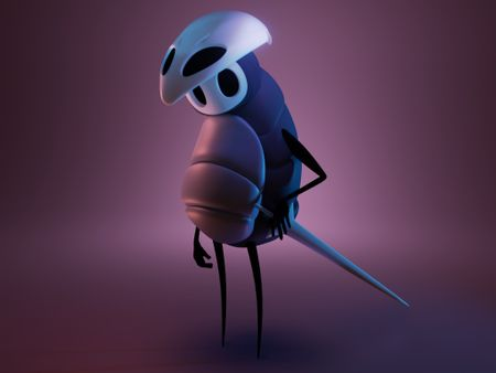 Quirrel from Hollow Knight
