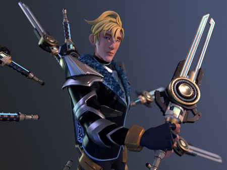 Sci-Fi Fantasy Swordsman