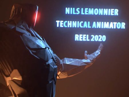 Demoreel Nils Lemonnier 2020 [Technical Animator]