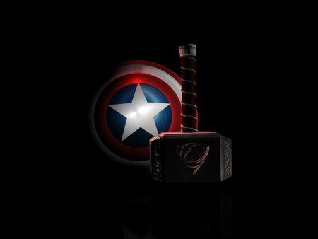 Captain America vs Thor