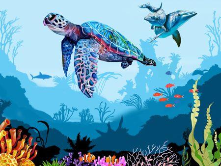 Beauty Of Underwater