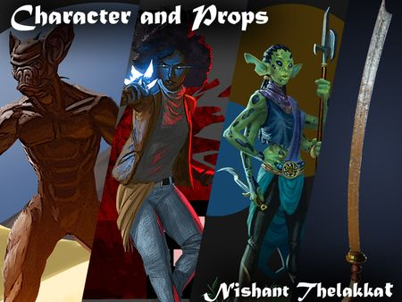Characters and Props